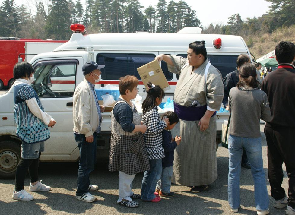 aide pour les sinistrés du tohoku au japon