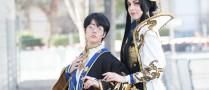 Milou et Aluota cosplay xxxHolic WCS Japan expo
