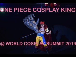 One piece cosplay king contest during nagoya world cosplay summit 2019
